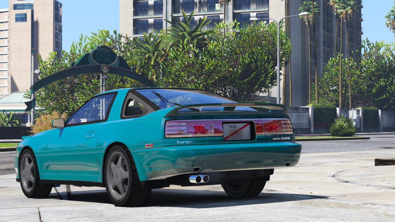 1992 Toyota Supra Turbo Mk3 [Add-On | Template] - GTA5-Mods.com