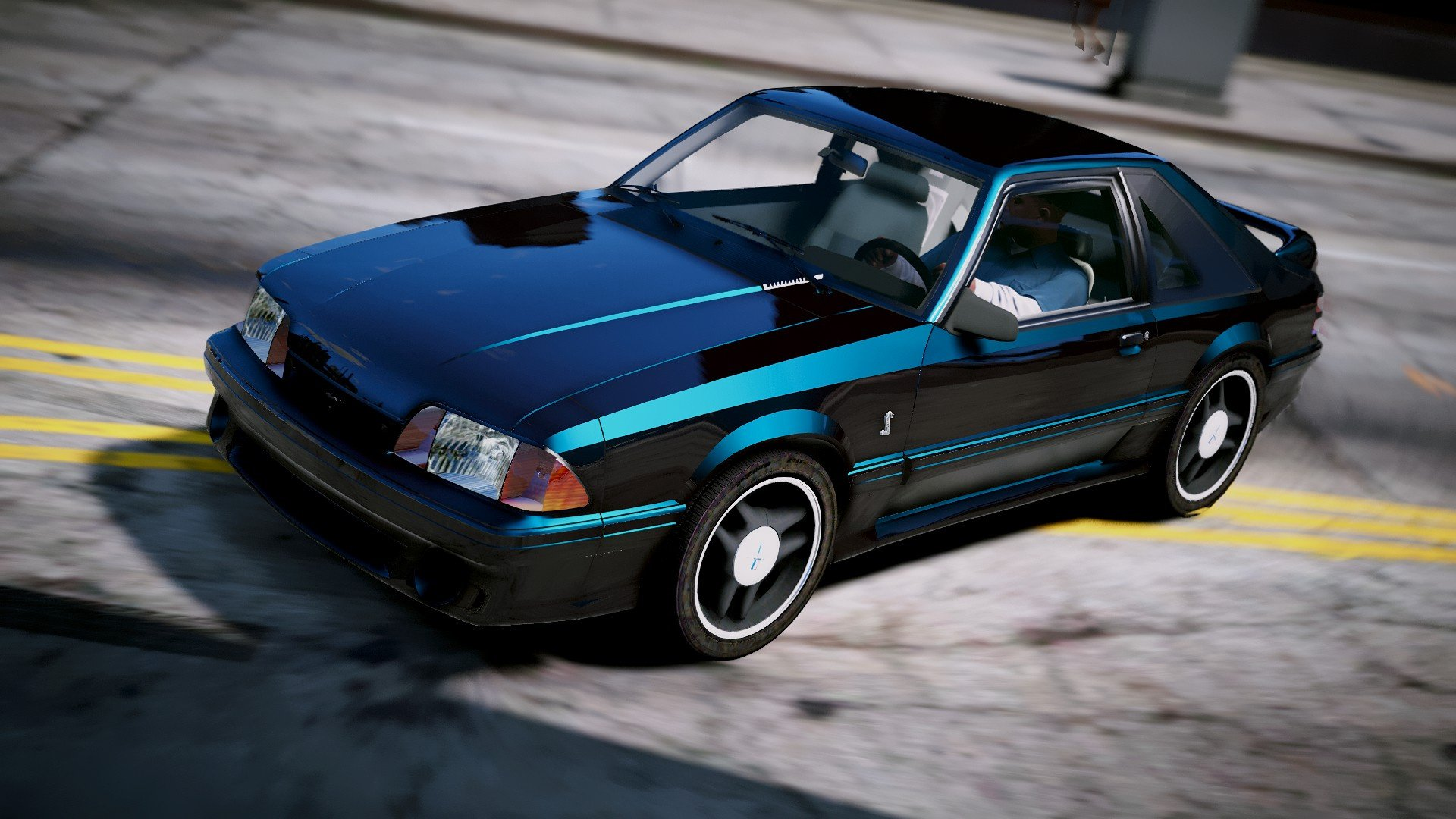 1993 ford mustang cobra replace gta5. Black Bedroom Furniture Sets. Home Design Ideas