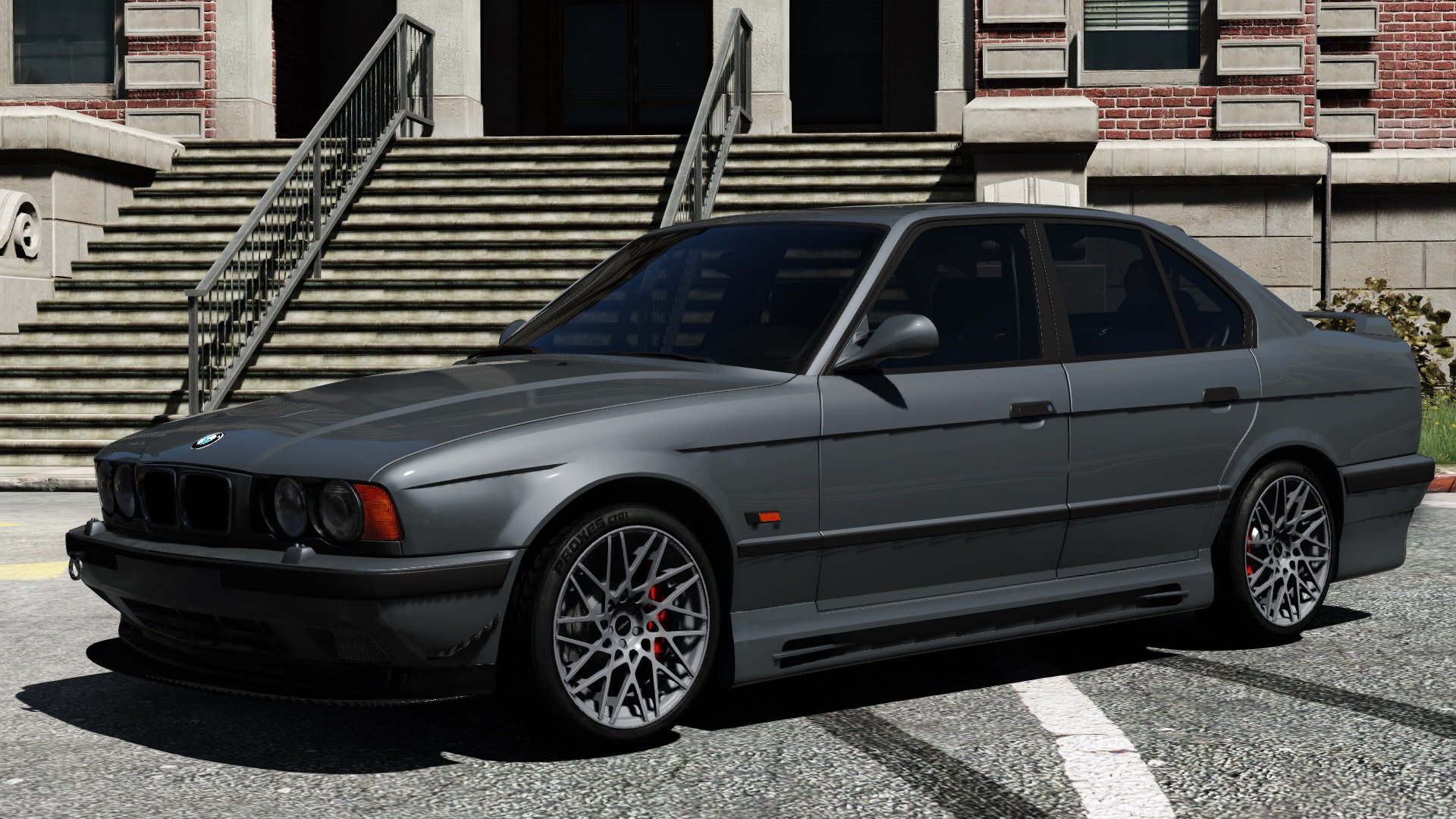 1995 bmw m5 e34 add on replace tuning gta5. Black Bedroom Furniture Sets. Home Design Ideas