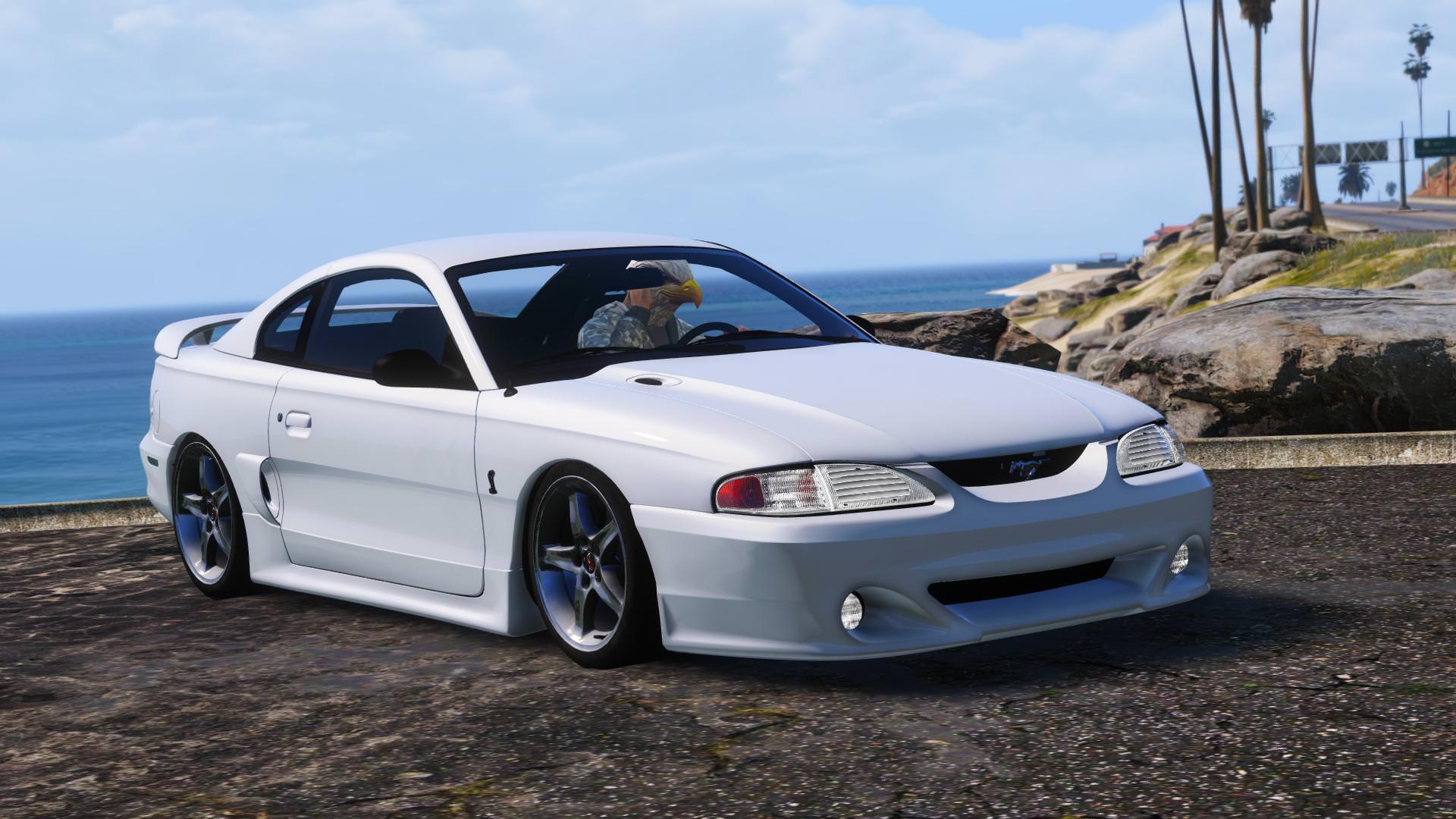 """Vaizdo rezultatas pagal užklausą """"Ford Mustang 1995 gta 5"""""""