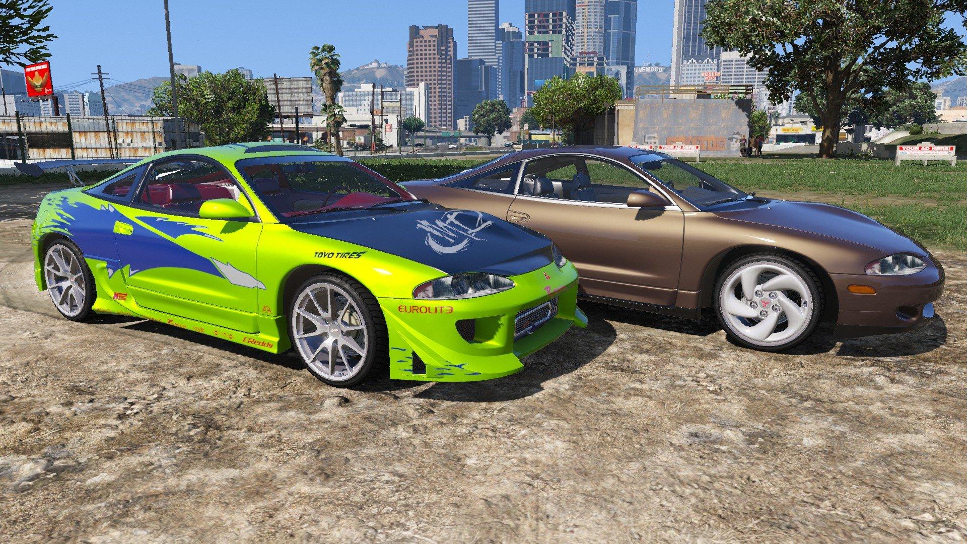 1995 Mitsubishi Eclipse GSX - GTA5-Mods.com