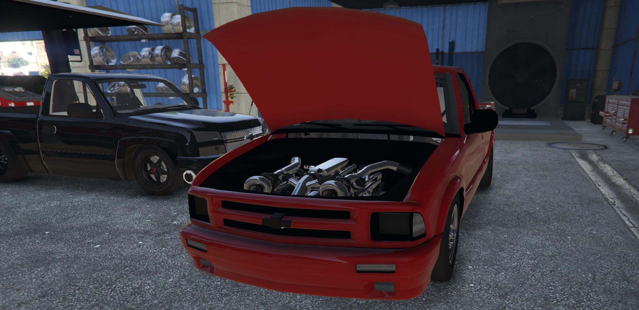 1996 Chevy S10 Drag [FIVEM Add-On|Replace] - GTA5-Mods com