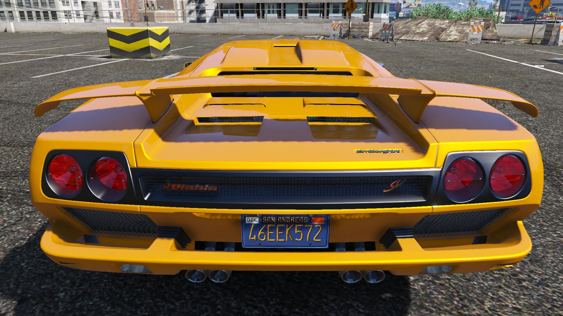 1997 Lamborghini Diablo Sv Gta5 Mods Com