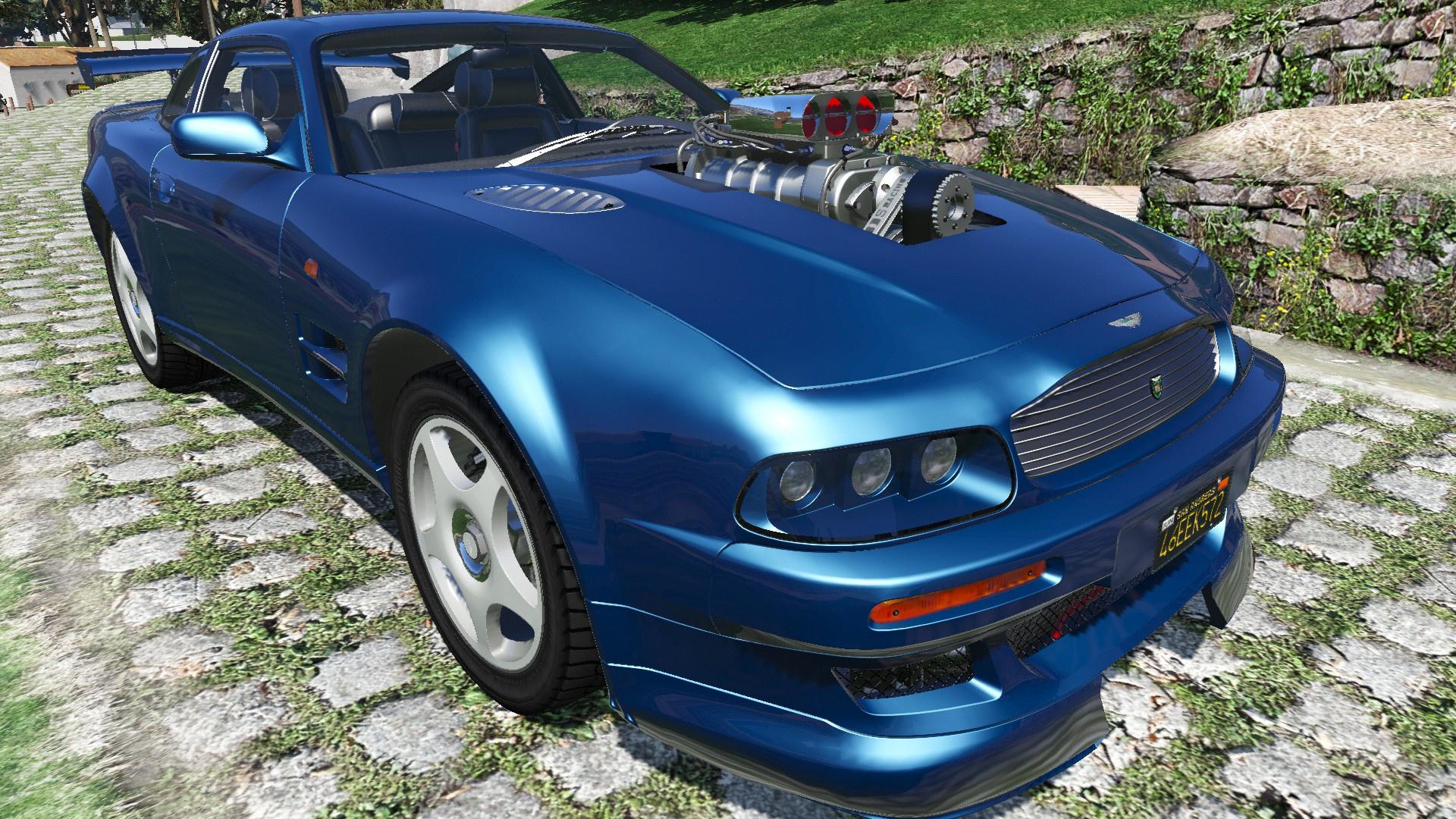 1998 Aston Martin V8 Vantage V600 Gta5 Mods Com
