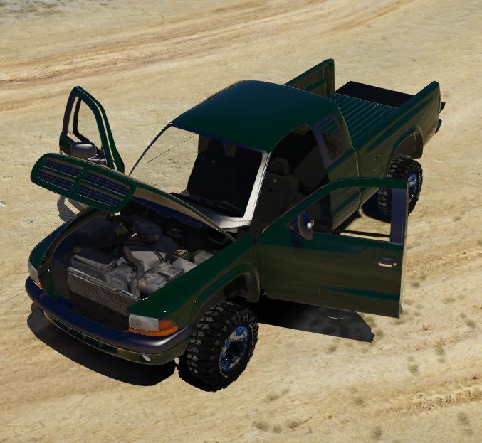 1998 Dodge Daktoa 4x4 Extended Cab [FiveM