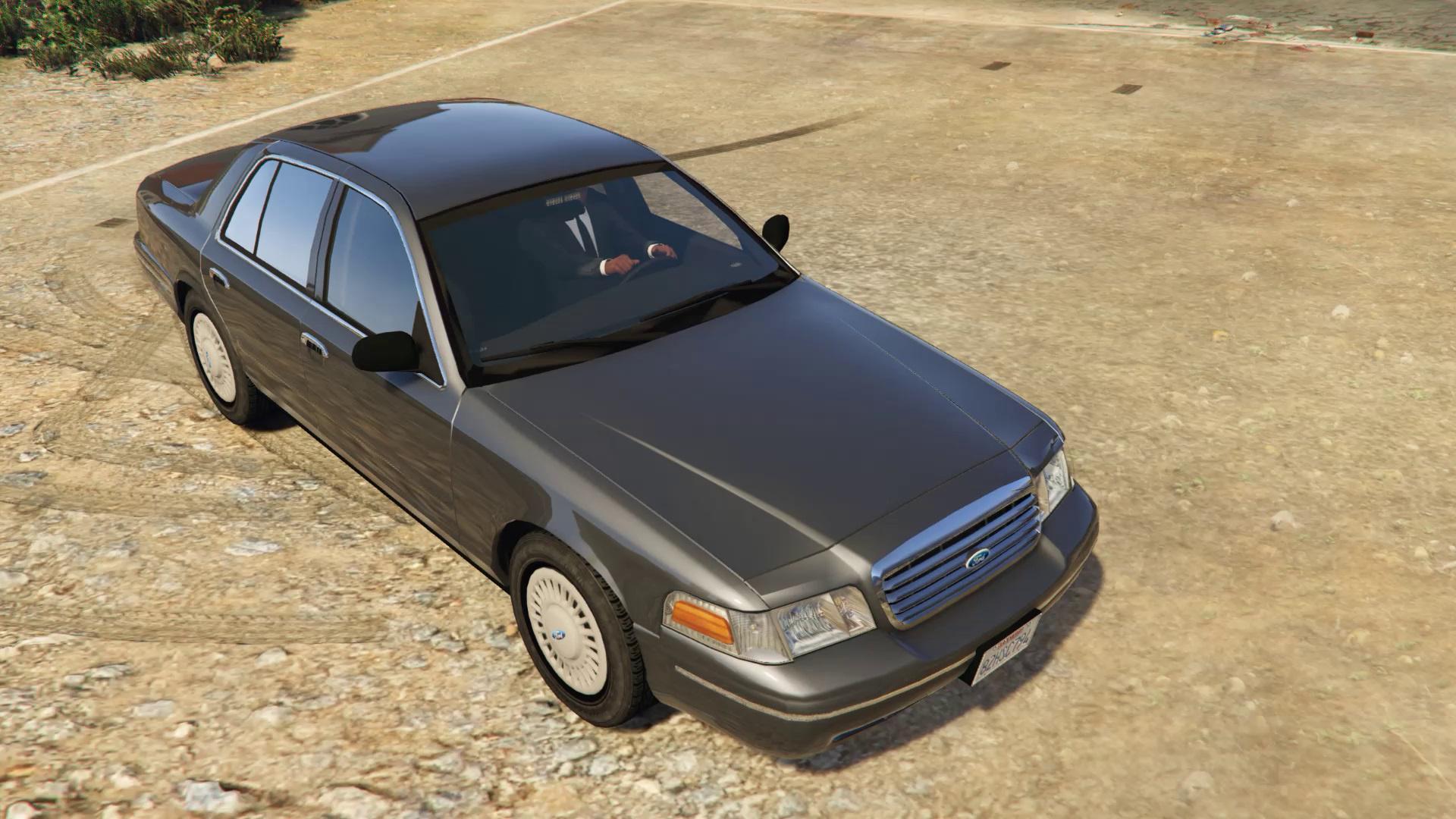 1998 Fbi Detective Crown Victoria 2 Models Gta5 Mods Com