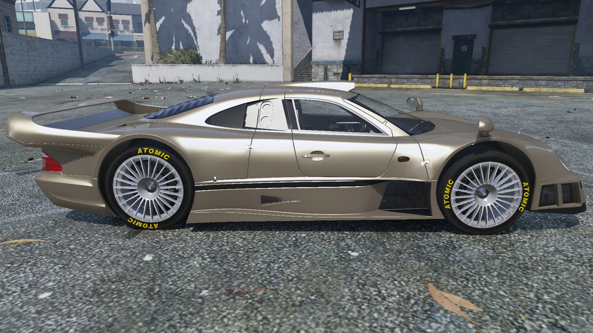 1998 mercedes benz clk gtr gta5 for Mercedes benz clk