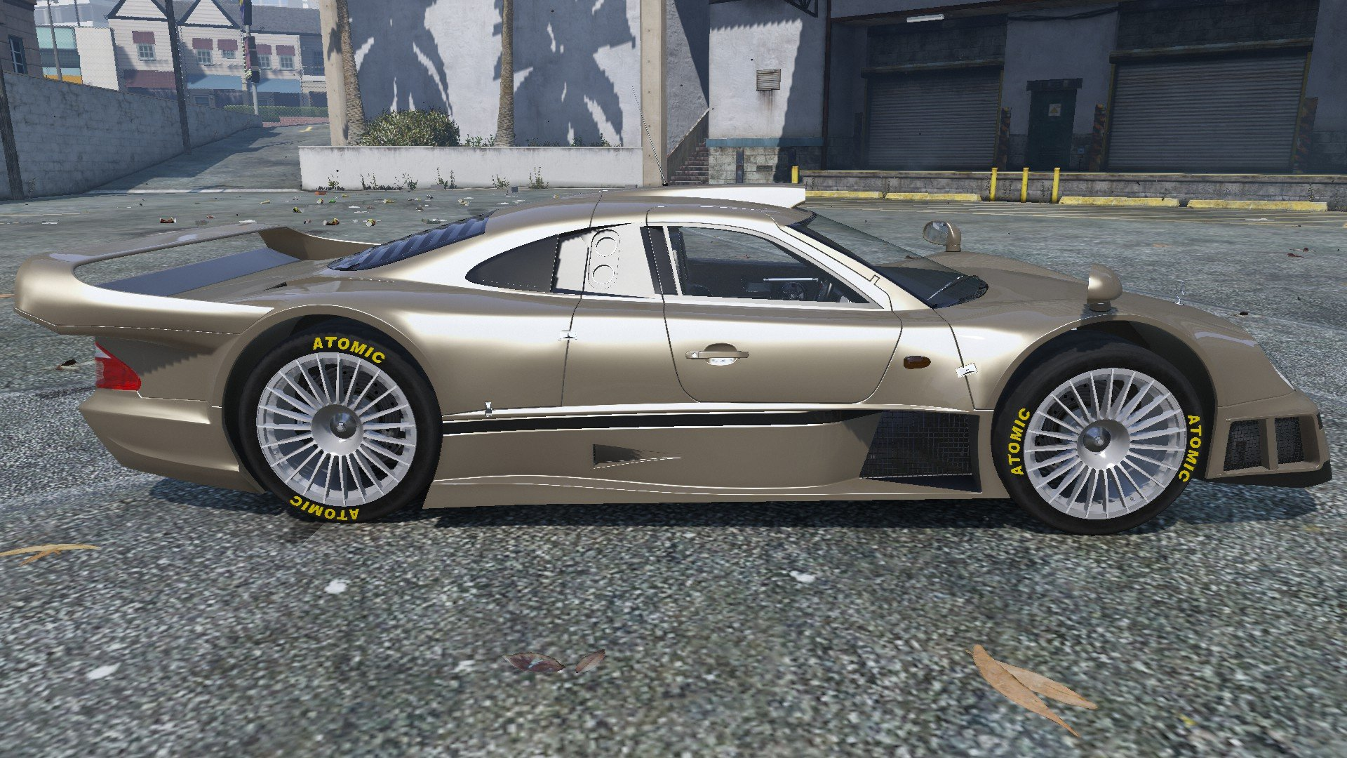1998 Mercedes Benz Clk Gtr Gta5 Mods Com