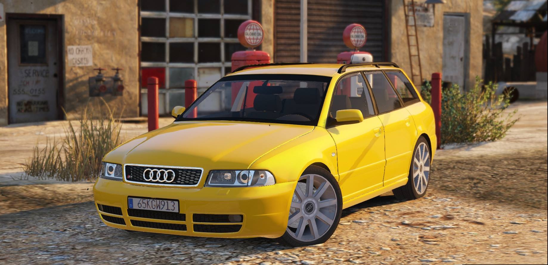 1999 audi s4 avant add on replace gta5. Black Bedroom Furniture Sets. Home Design Ideas