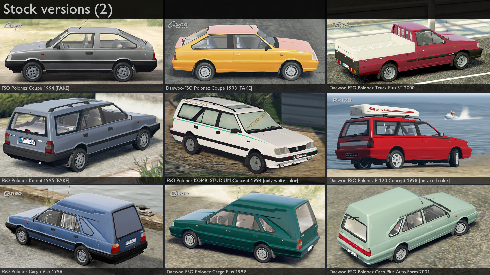 1999 Daewoo-FSO Polonez Plus Ambulance [Add-On | Tuning | Animated