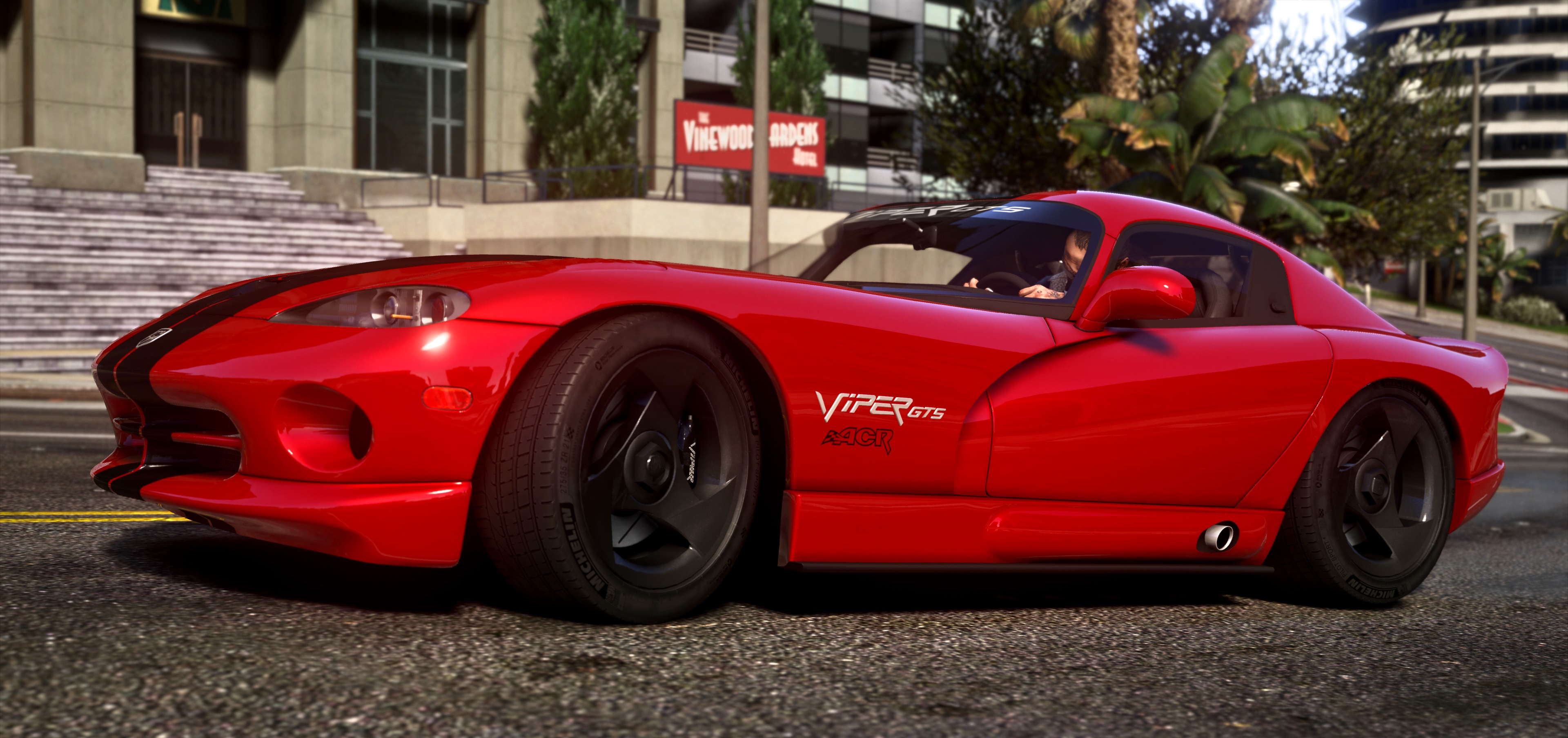1999 Dodge Viper Gts Acr Add On Replace Tuning Template Gta5 Mods Com