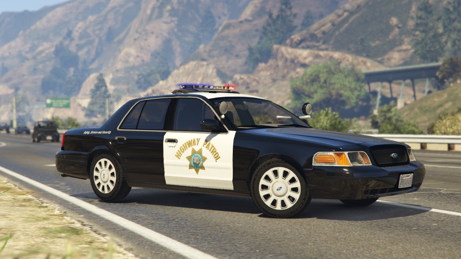 1999 Ford Crown Victoria Lapd Highway Patrol Paintjob Gta5 Mods Com