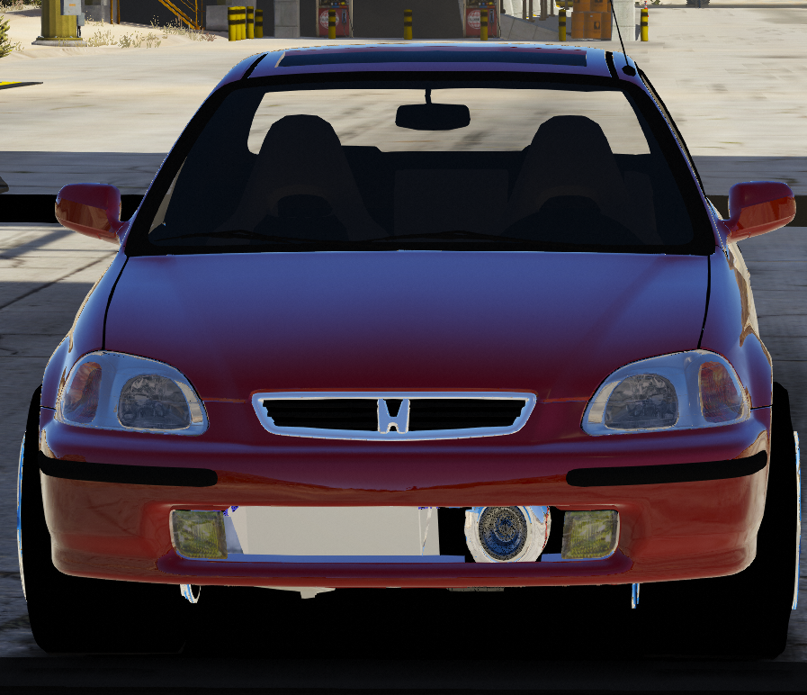 honda civic sedan drag version  mreplace gta modscom