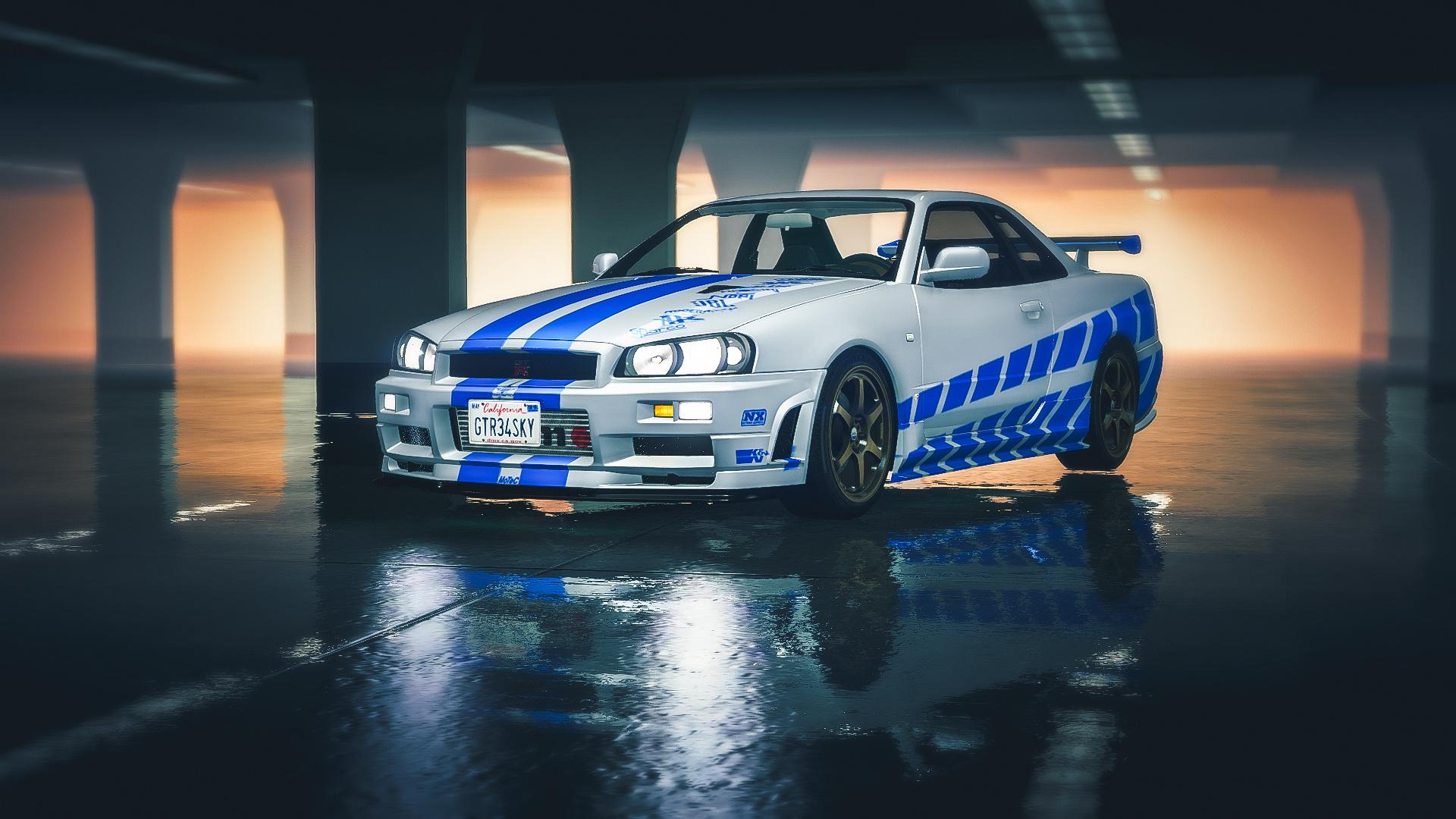 2 Fast 2 Furious - Nissan Skyline R34 livery - GTA5-Mods.comFast And Furious Cars Skyline