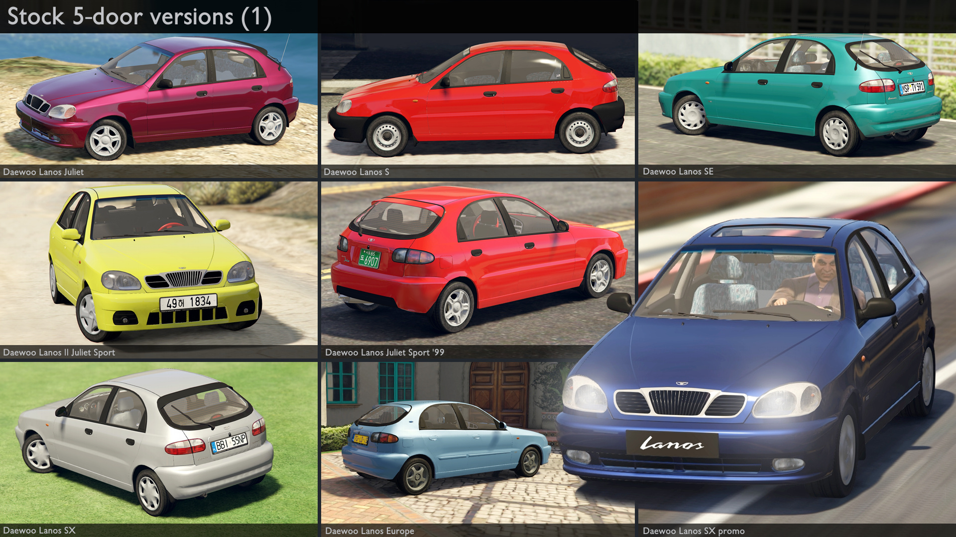 2000 Daewoo Lanos* [Add-On/Rep | Tuning | Rims | Liveries ...