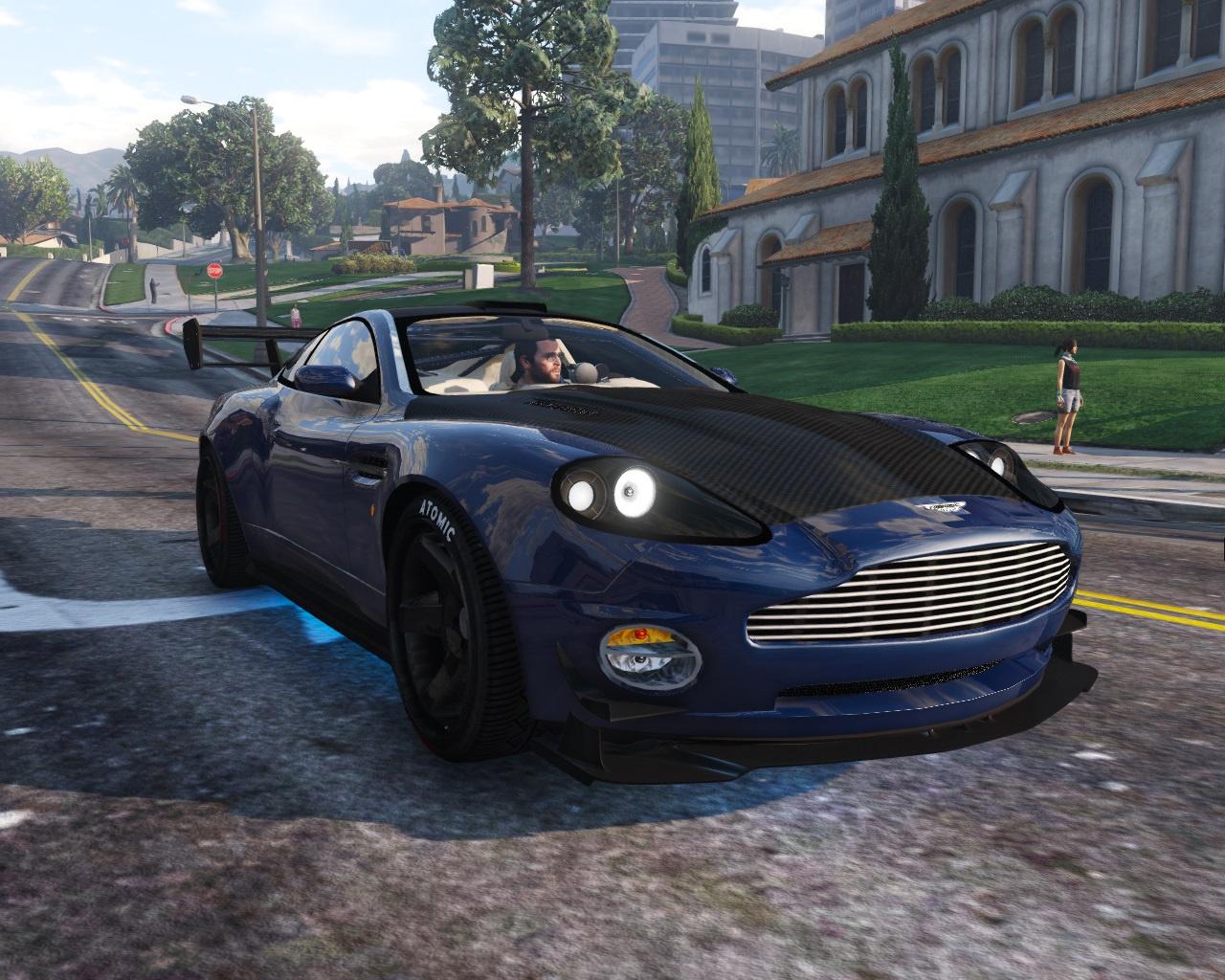 Aston Martin V Vanquish AddOn Replace Tuning GTA - 2001 aston martin vanquish