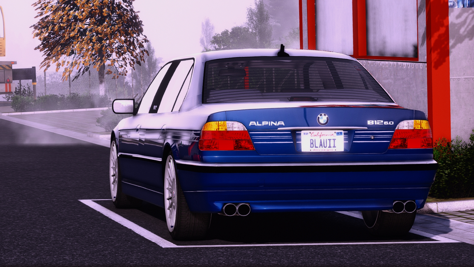 2001 Bmw Alpina B12 6 0 Lang E38 Fl Add On Replace Extras Gta5 Mods Com