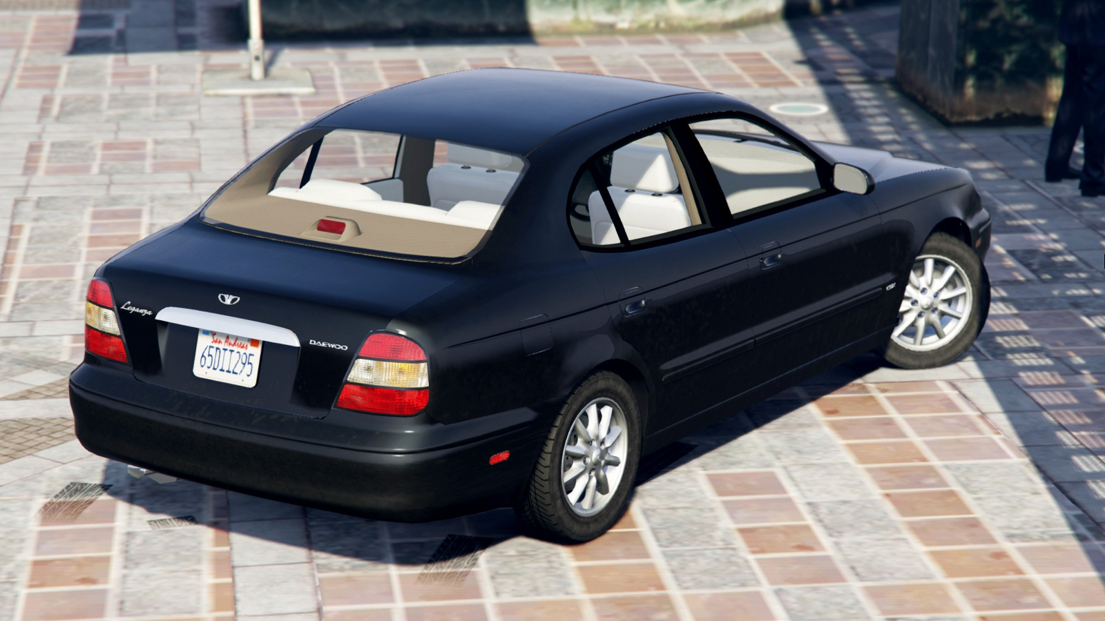 2001 Daewoo Leganza US [Add-On / Rep | Tuning] - GTA5-Mods.com