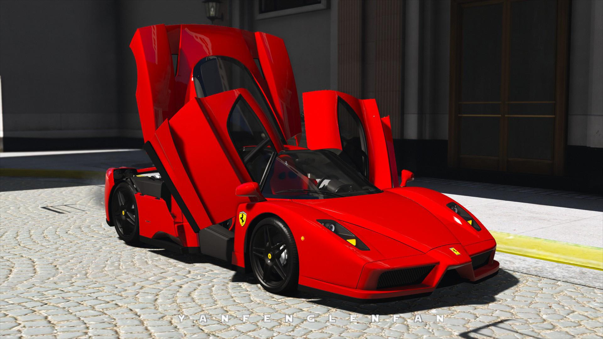 2002 Ferrari Enzo Add On Digital Gear Aero Flaps Hq Gta5
