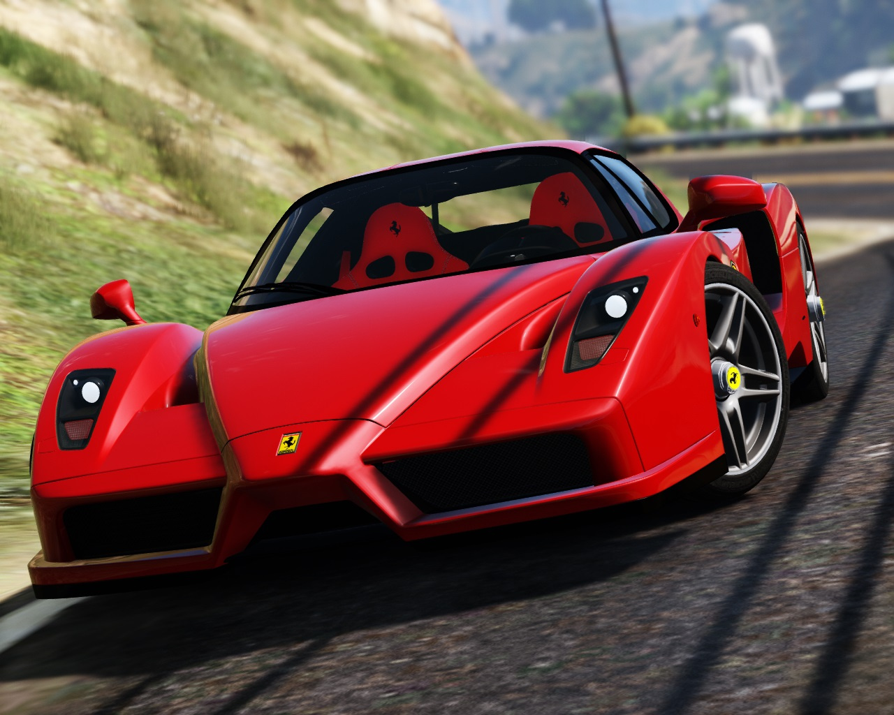 2002 ferrari enzo add on replace gta5. Black Bedroom Furniture Sets. Home Design Ideas