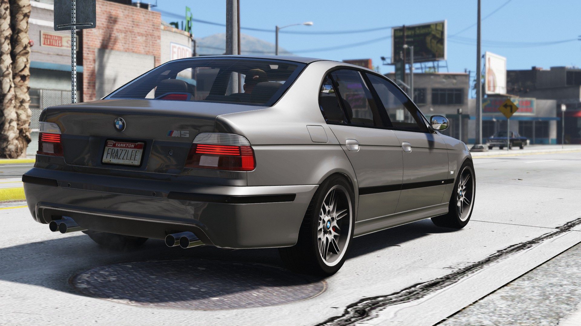2003 bmw m5 e39 add on replace tuning gta5. Black Bedroom Furniture Sets. Home Design Ideas