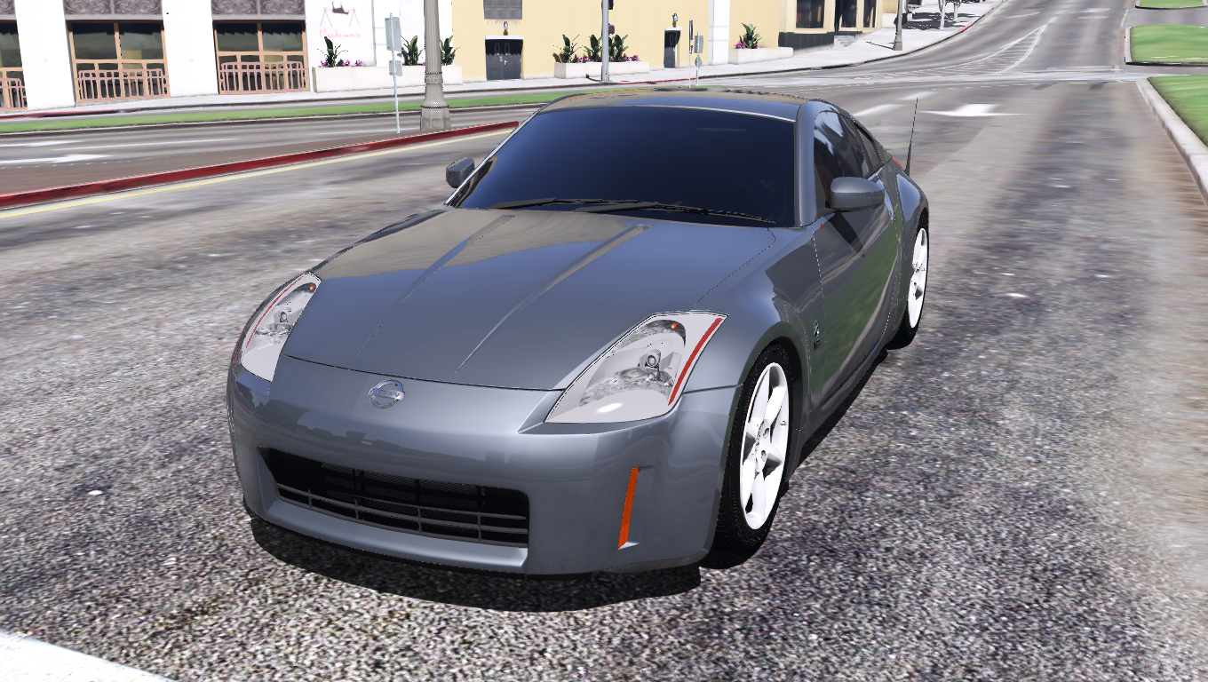 2003 nissan 350z add on replace tuning template gta5. Black Bedroom Furniture Sets. Home Design Ideas