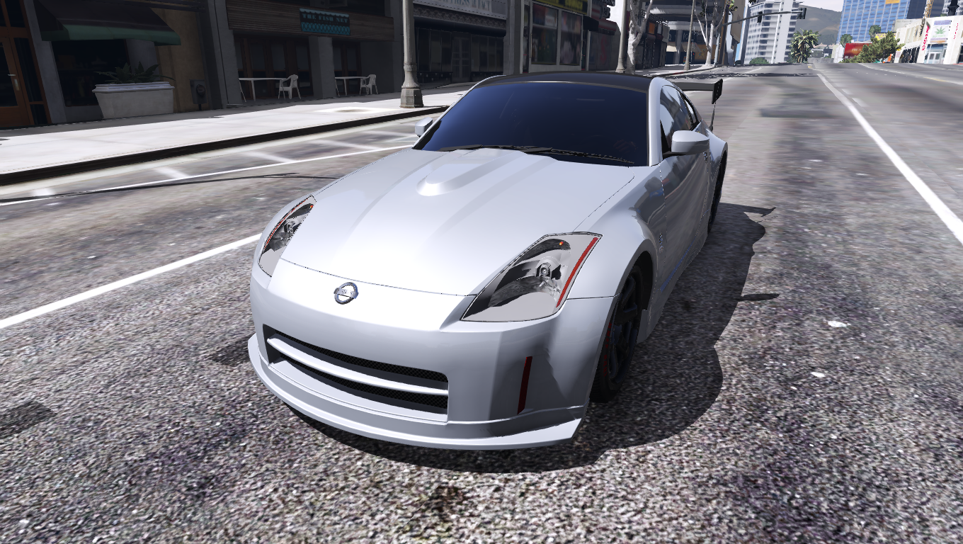 2003 nissan 350z [add-on / replace | tuning | template] - gta5