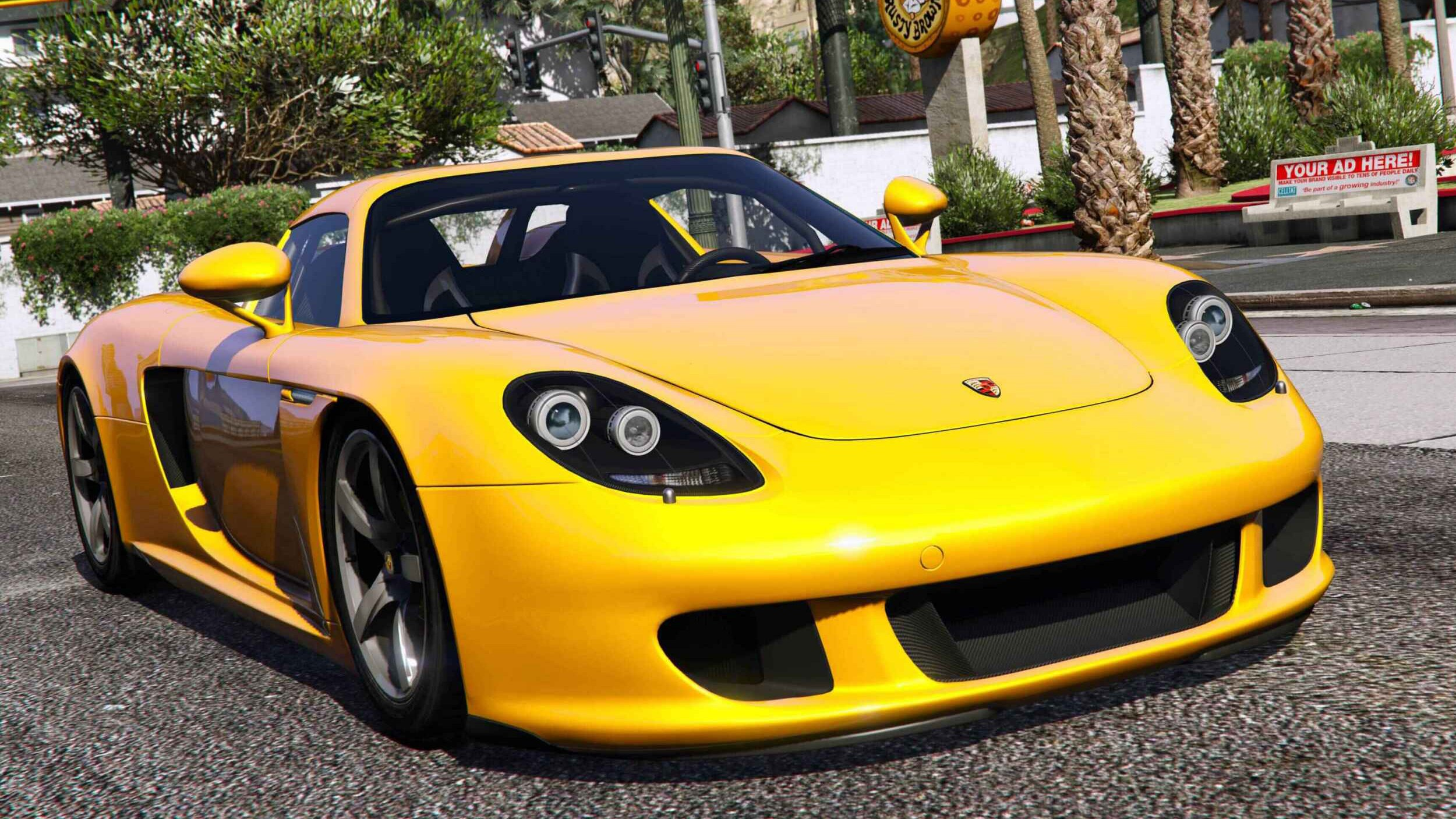 2003 porsche carrera gt 980 gta5. Black Bedroom Furniture Sets. Home Design Ideas
