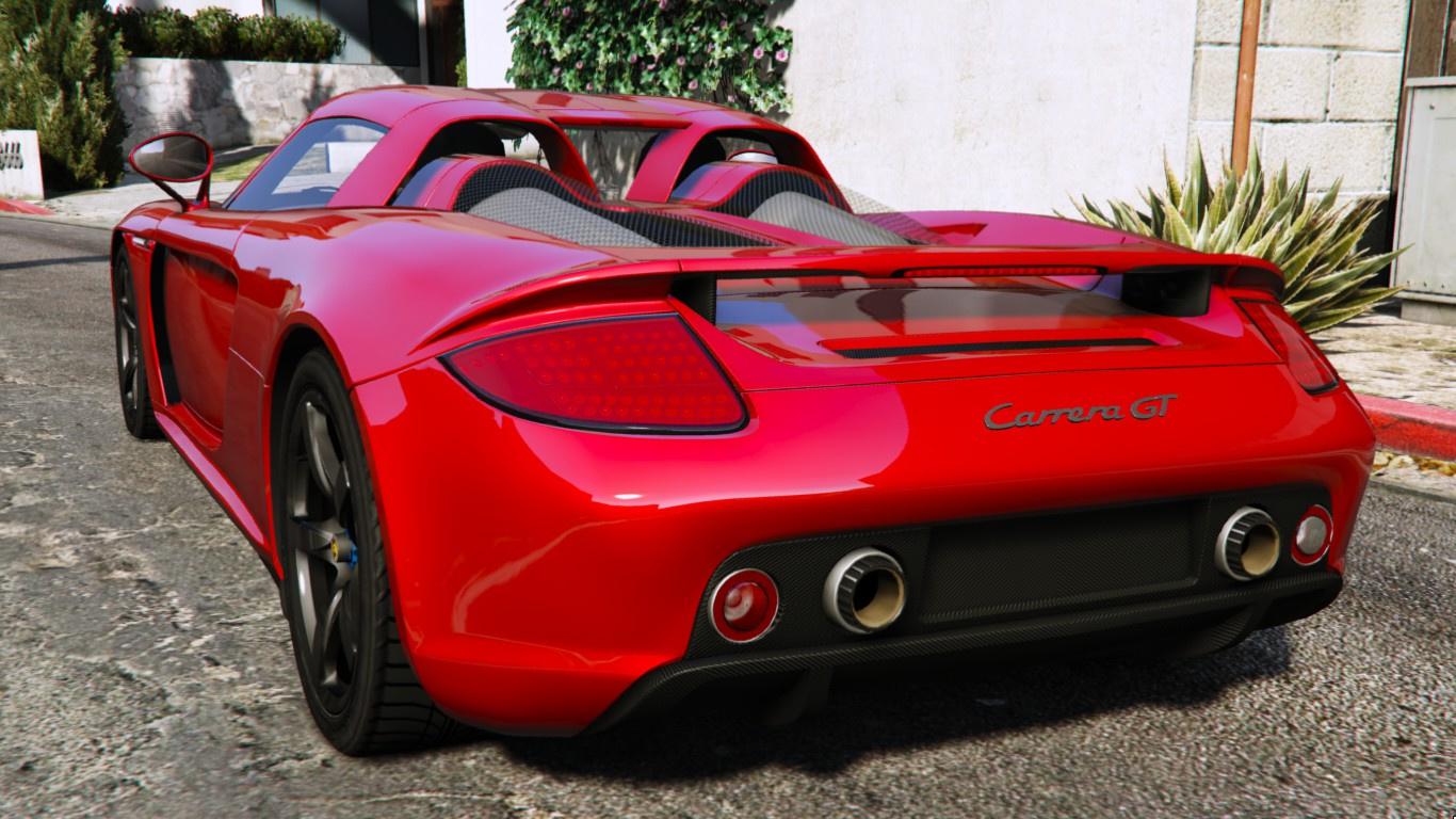 2003 Porsche Carrera GT (980) - GTA5-Mods.com