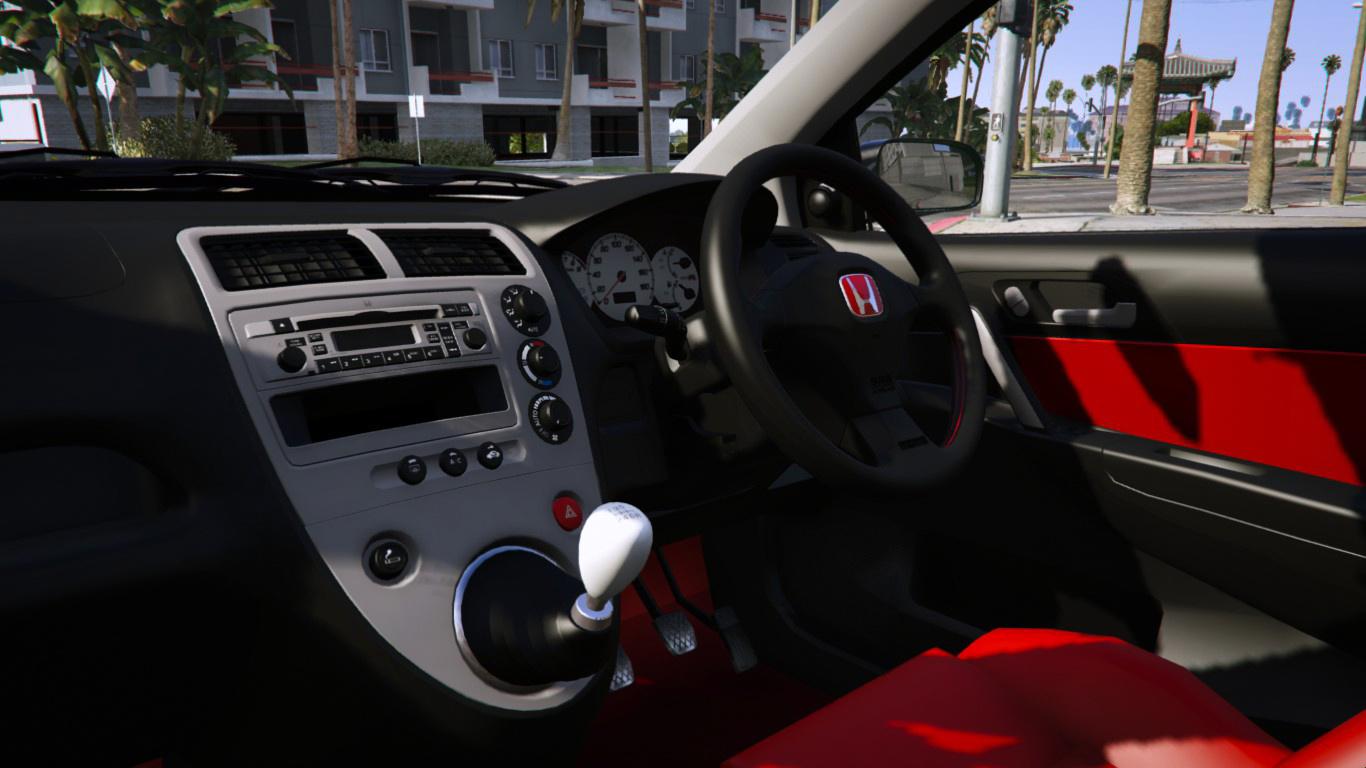 2001 Honda Civic Type R Ep3 Add On Rhd Mugen Gta5