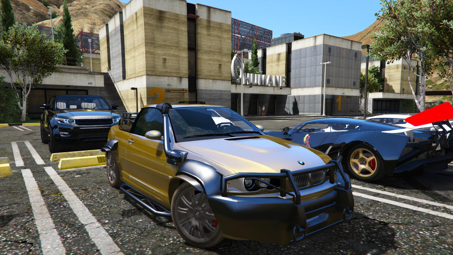 2005 bmw m3 e46 ute pickup tuning unlocked gta5. Black Bedroom Furniture Sets. Home Design Ideas