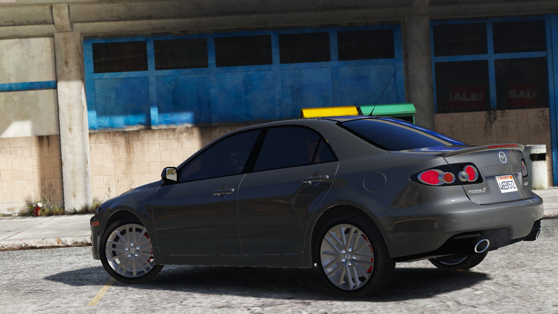 2006 mazda 6 mps gta5 for Mazdaspeed 6 exterior mods