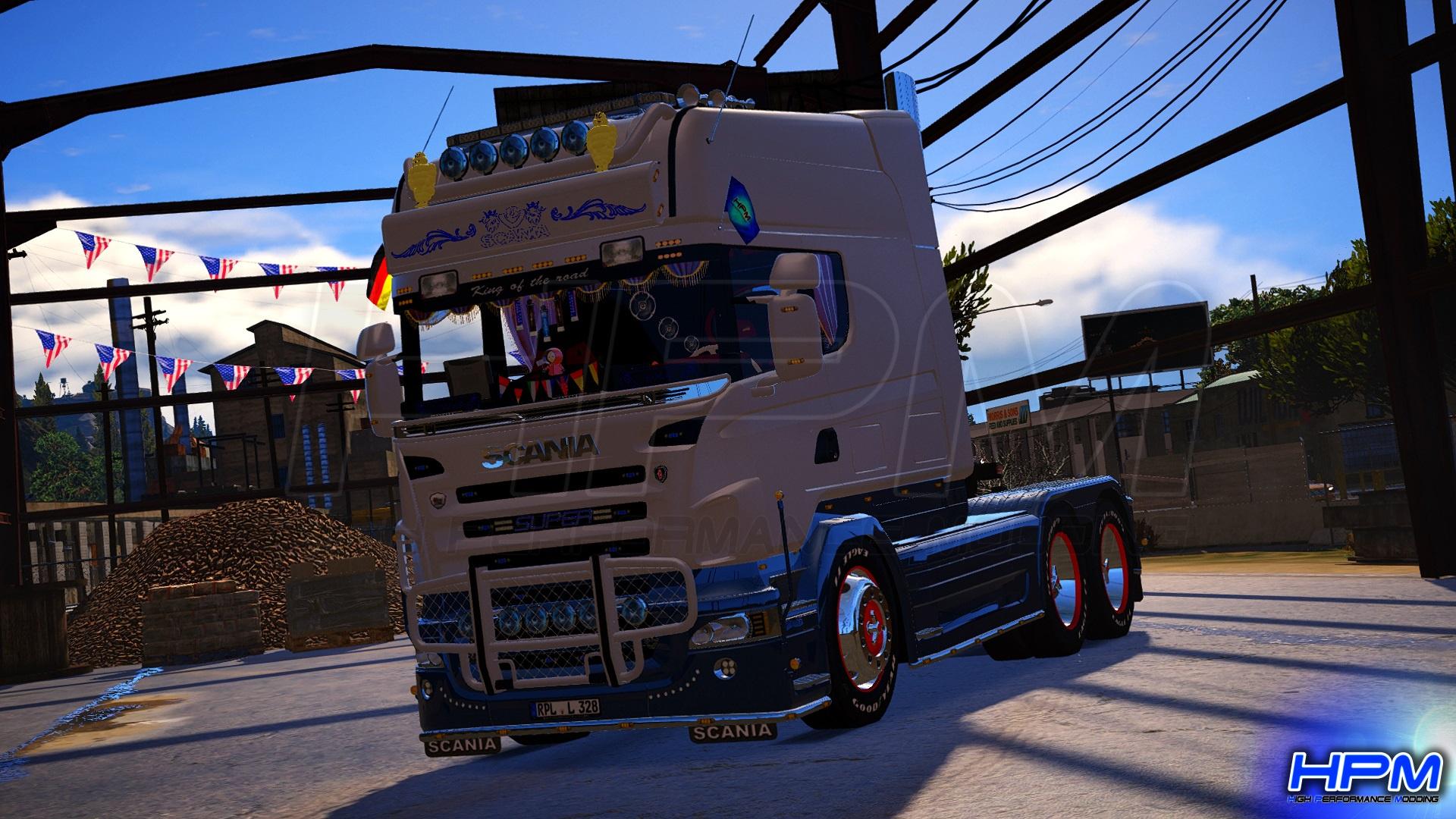 2006 Scania R580 Longline Showtruck [Replace | ELS] - GTA5