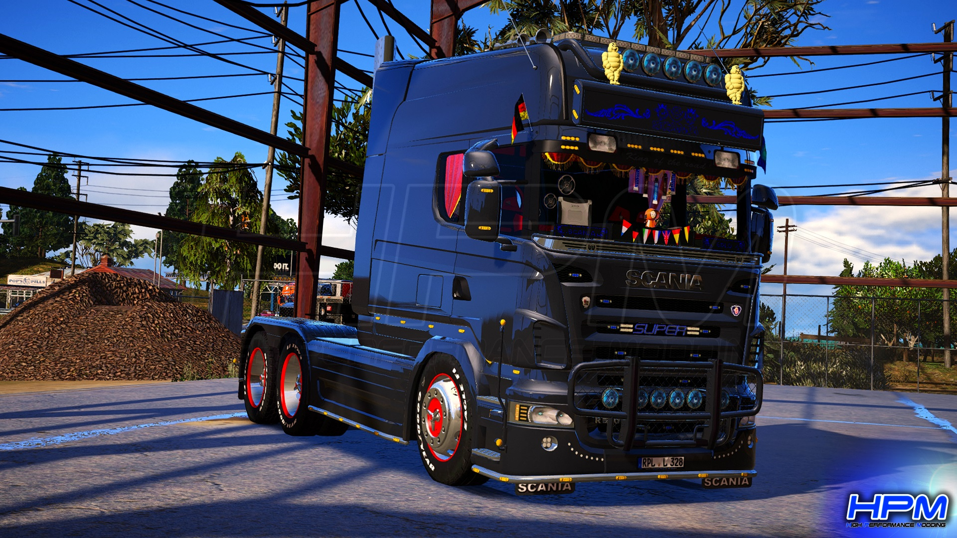 2006 Scania R580 Longline Showtruck [Replace | ELS] - GTA5