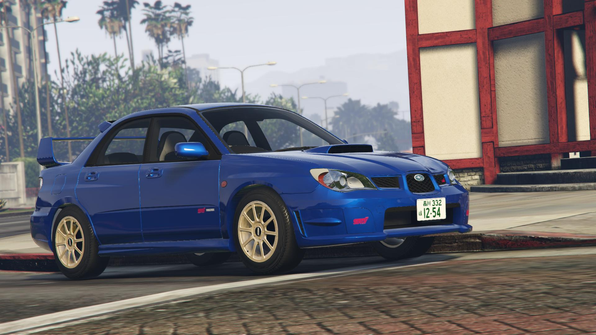 2006 subaru impreza wrx sti add on rhd tuning gta5. Black Bedroom Furniture Sets. Home Design Ideas