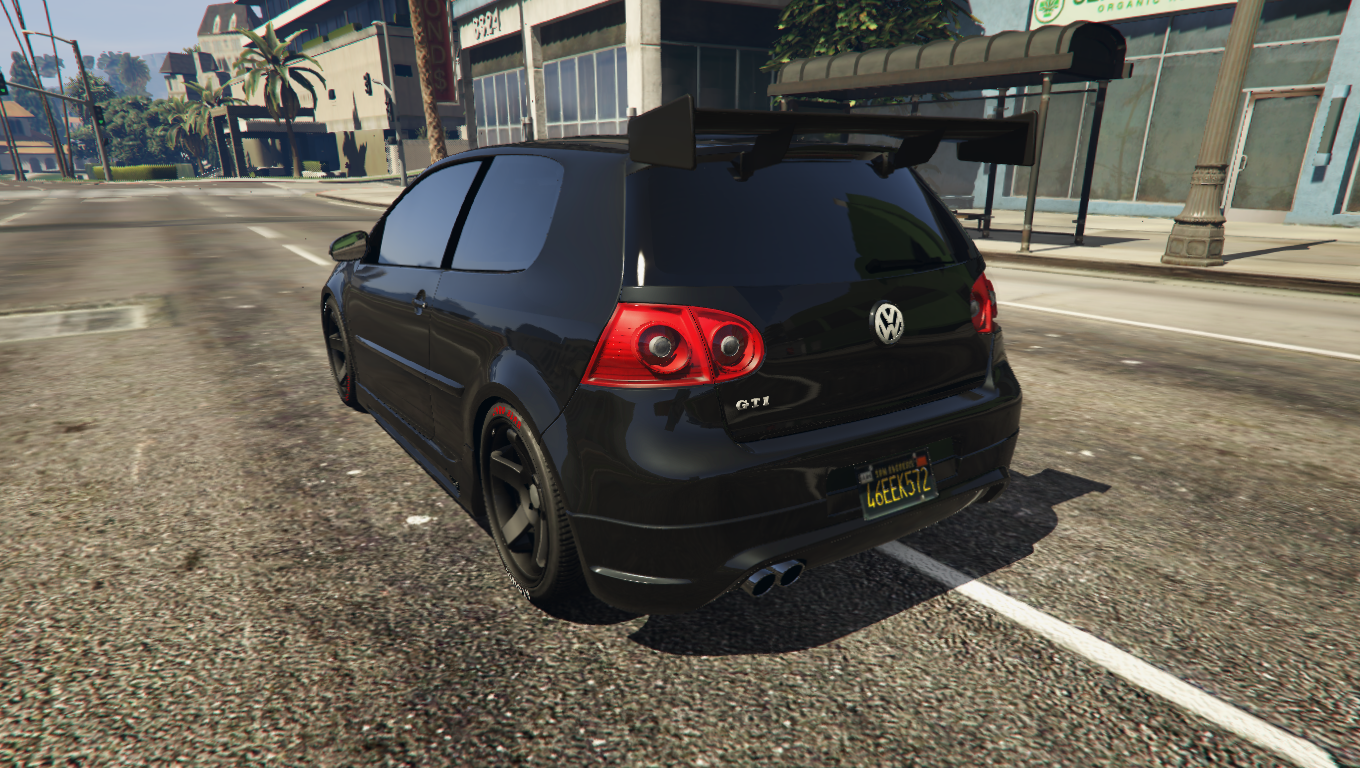 2006 volkswagen golf gti v add on replace gta5. Black Bedroom Furniture Sets. Home Design Ideas