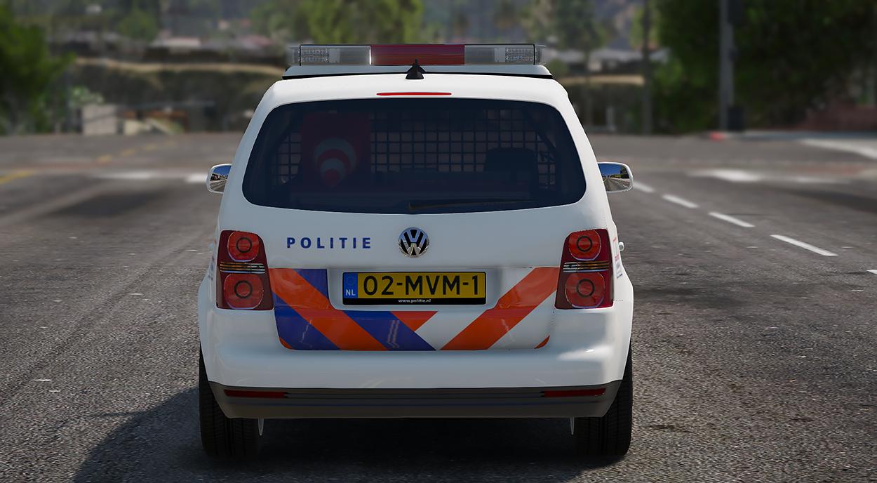 2007 volkswagen touran dutch police nederlandse politie. Black Bedroom Furniture Sets. Home Design Ideas