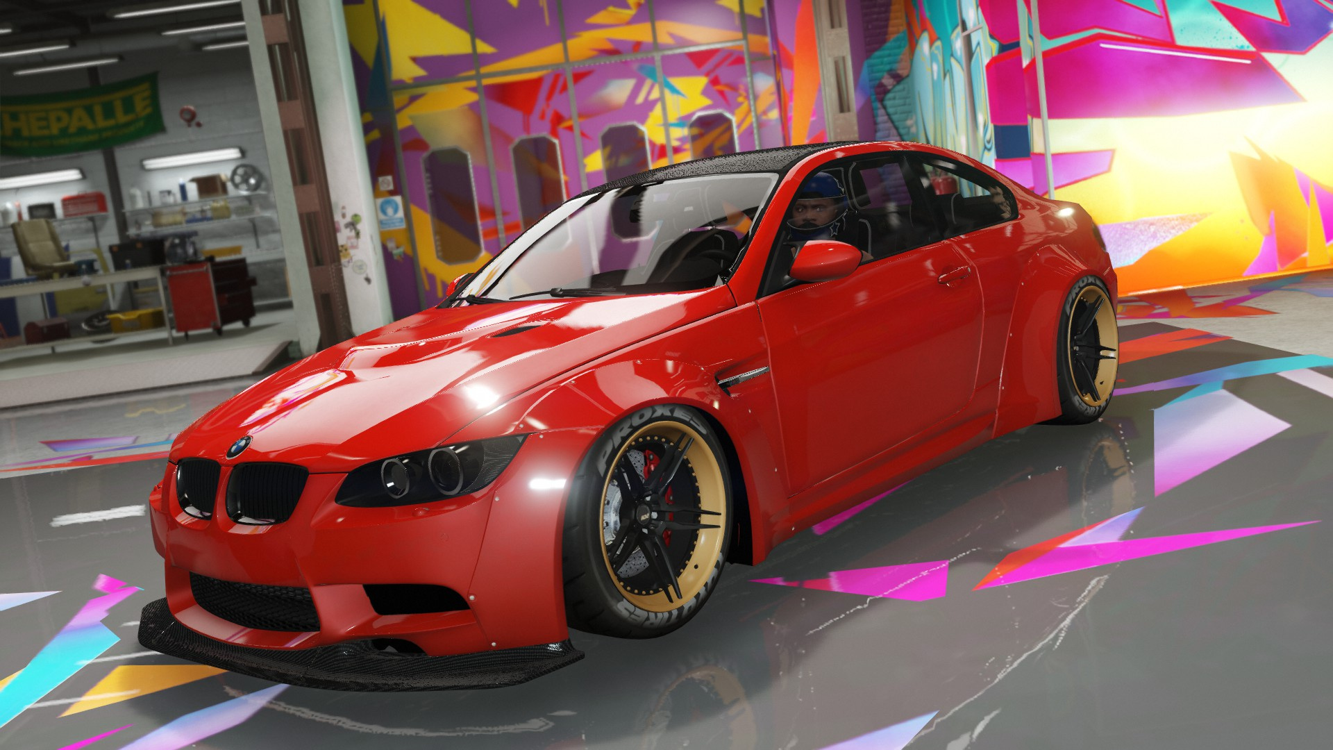 2008 Bmw M3 E92 Liberty Walk Replace Gta5 Mods Com
