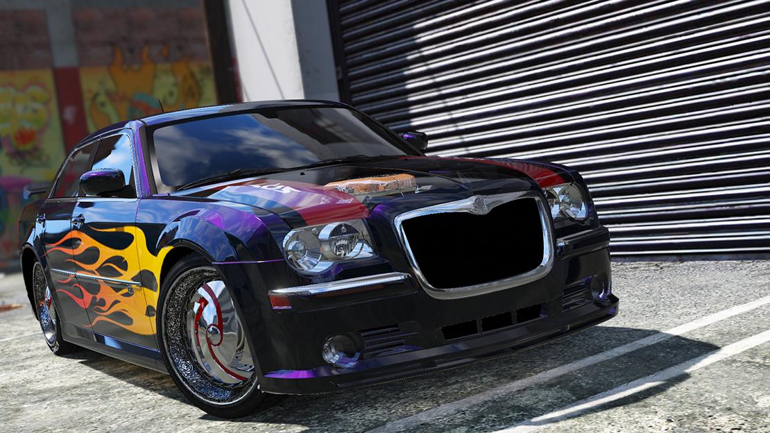 2008 Chrysler 300c SRT8 [ Tuning / Livery / Add-on / DUB ... | 1110 x 624 png 1373kB