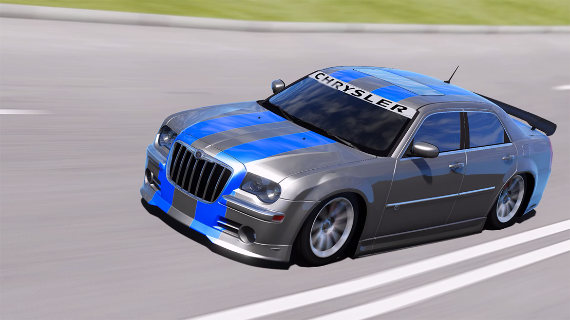2008 chrysler 300c srt8 tuning livery add on dub. Black Bedroom Furniture Sets. Home Design Ideas