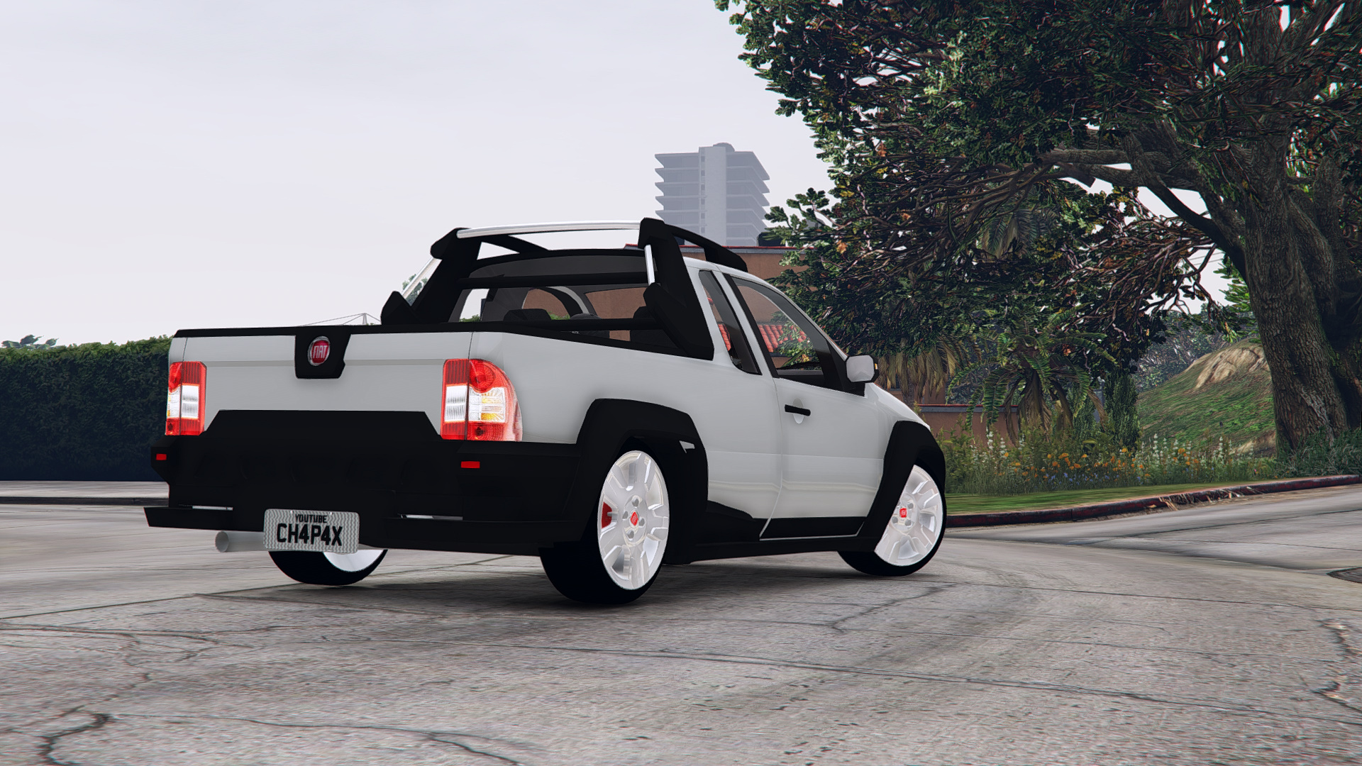 2008 fiat strada adventure stock gta5. Black Bedroom Furniture Sets. Home Design Ideas