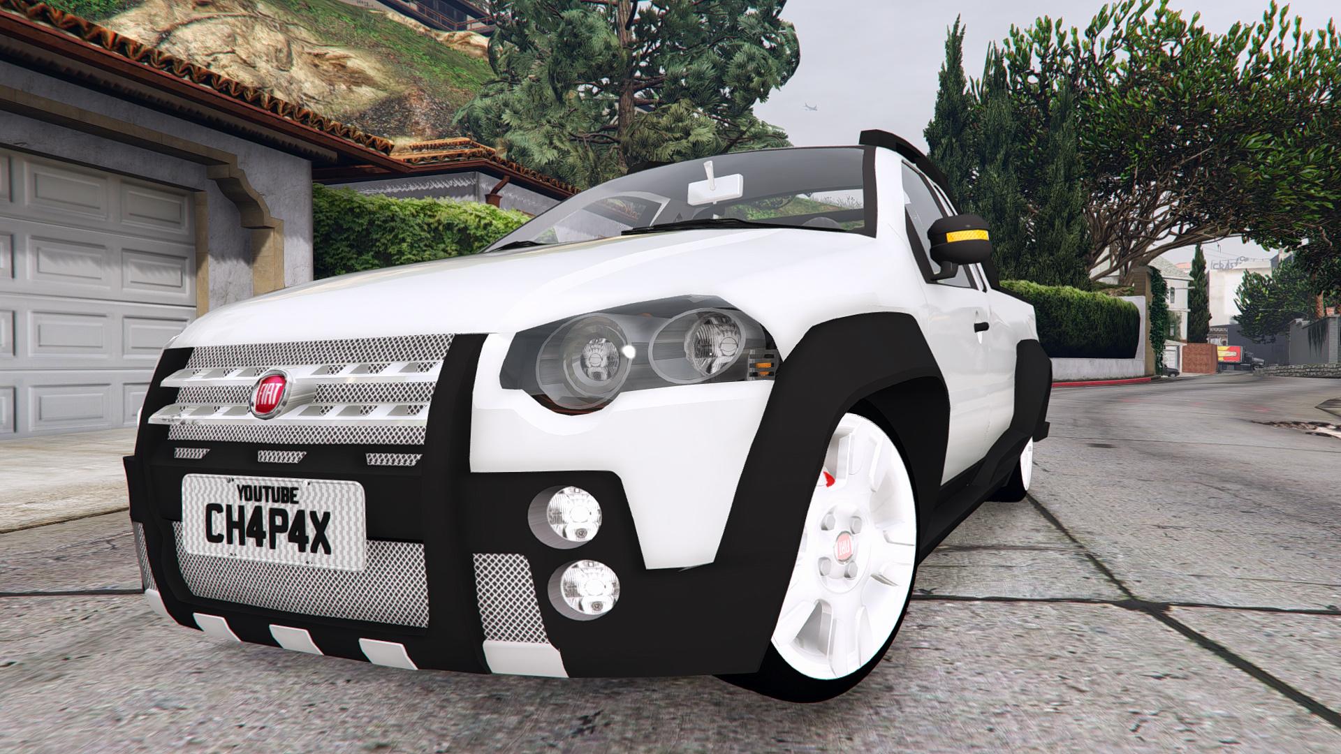 2008 Fiat Strada Adventure Stock