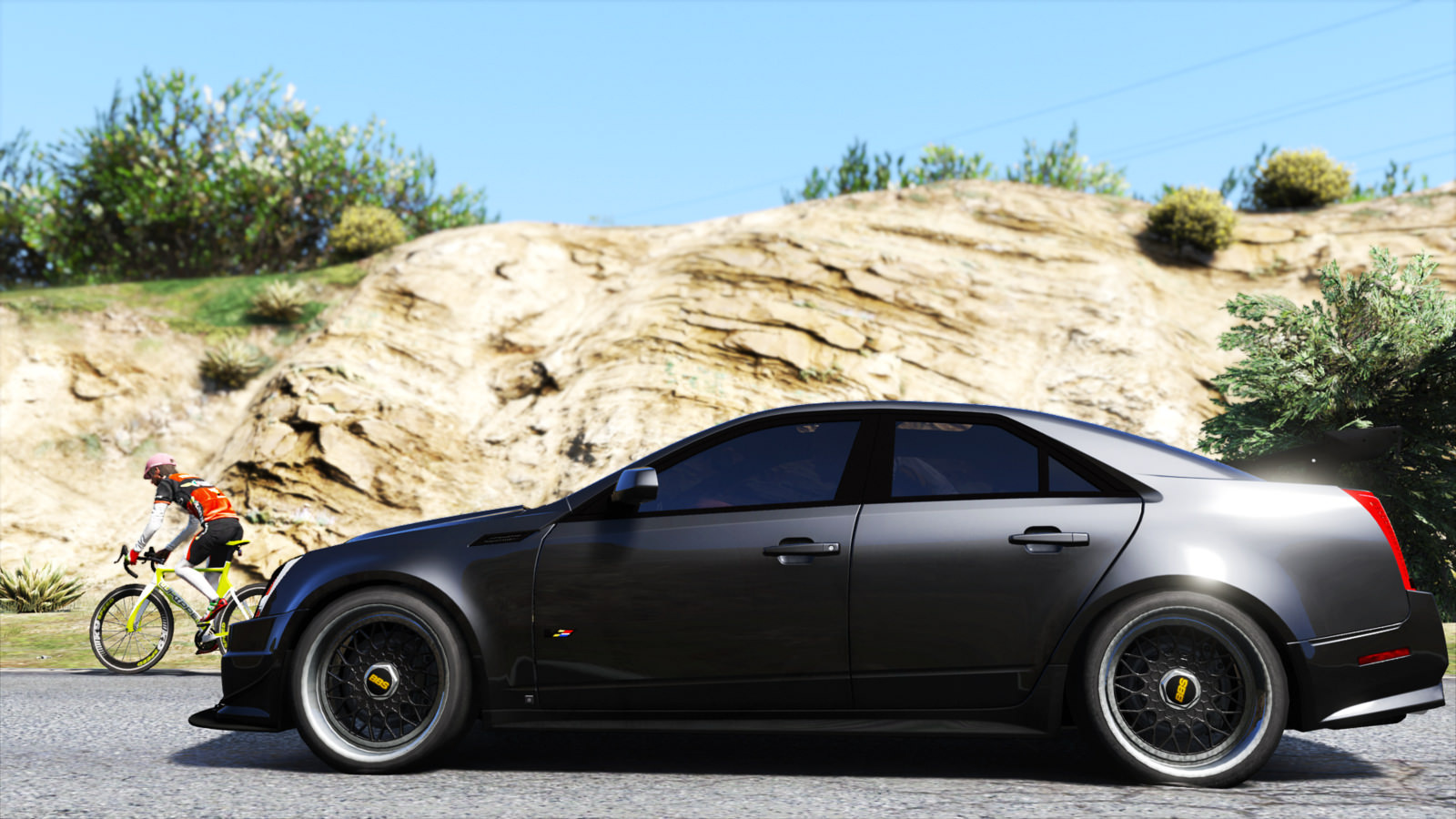 2009 Cadillac Cts V Add On Replace Gta5 Mods Com