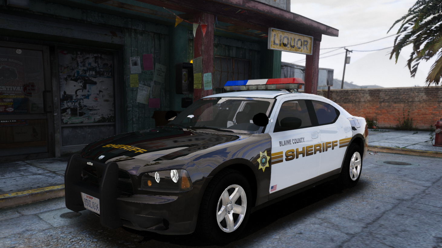 2009 dodge charger police package replace non els gta5. Black Bedroom Furniture Sets. Home Design Ideas