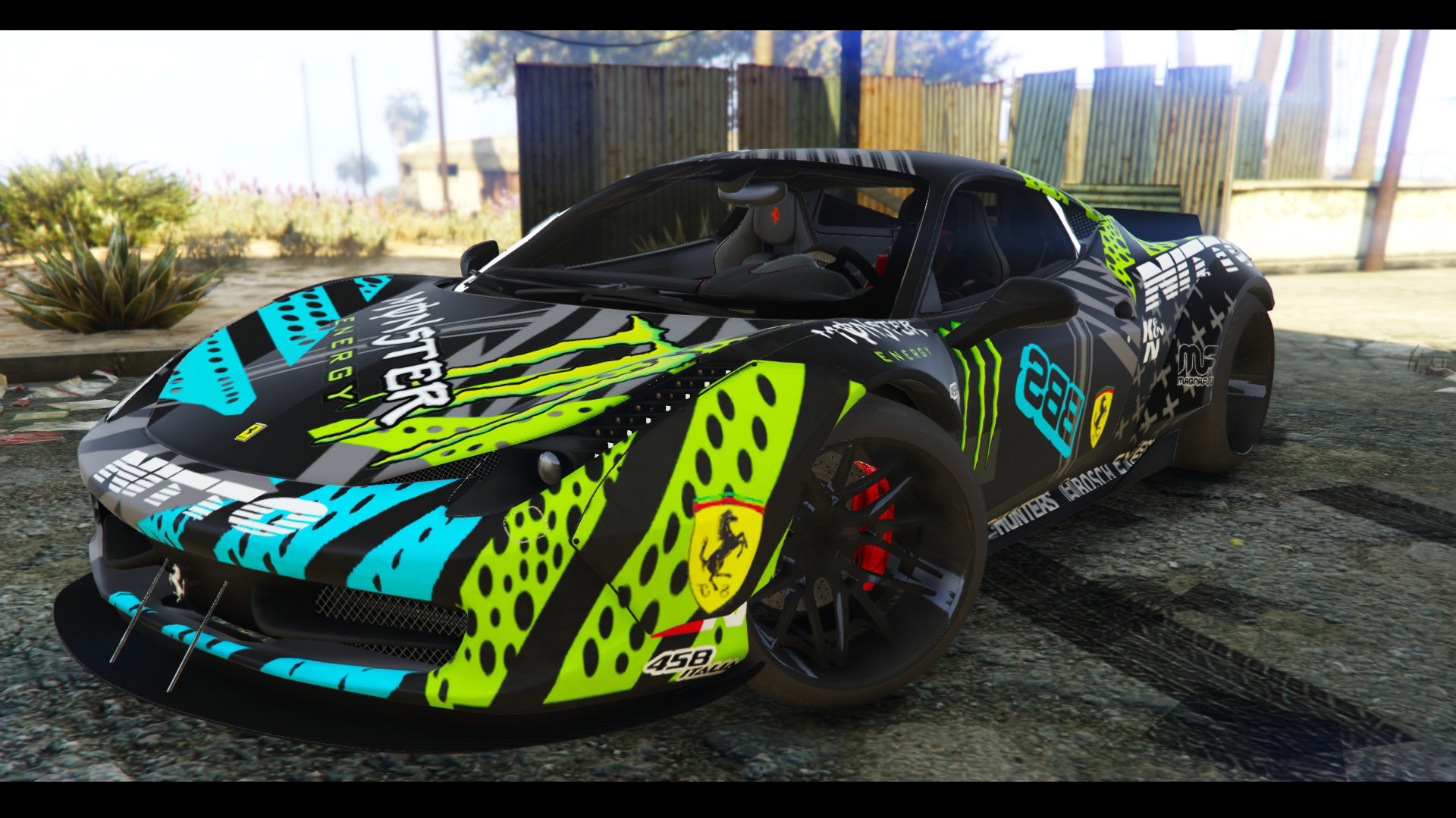 2009 Ferrari 458 Italia Liberty Walk Add On Tuning Template Gta5 Mods Com