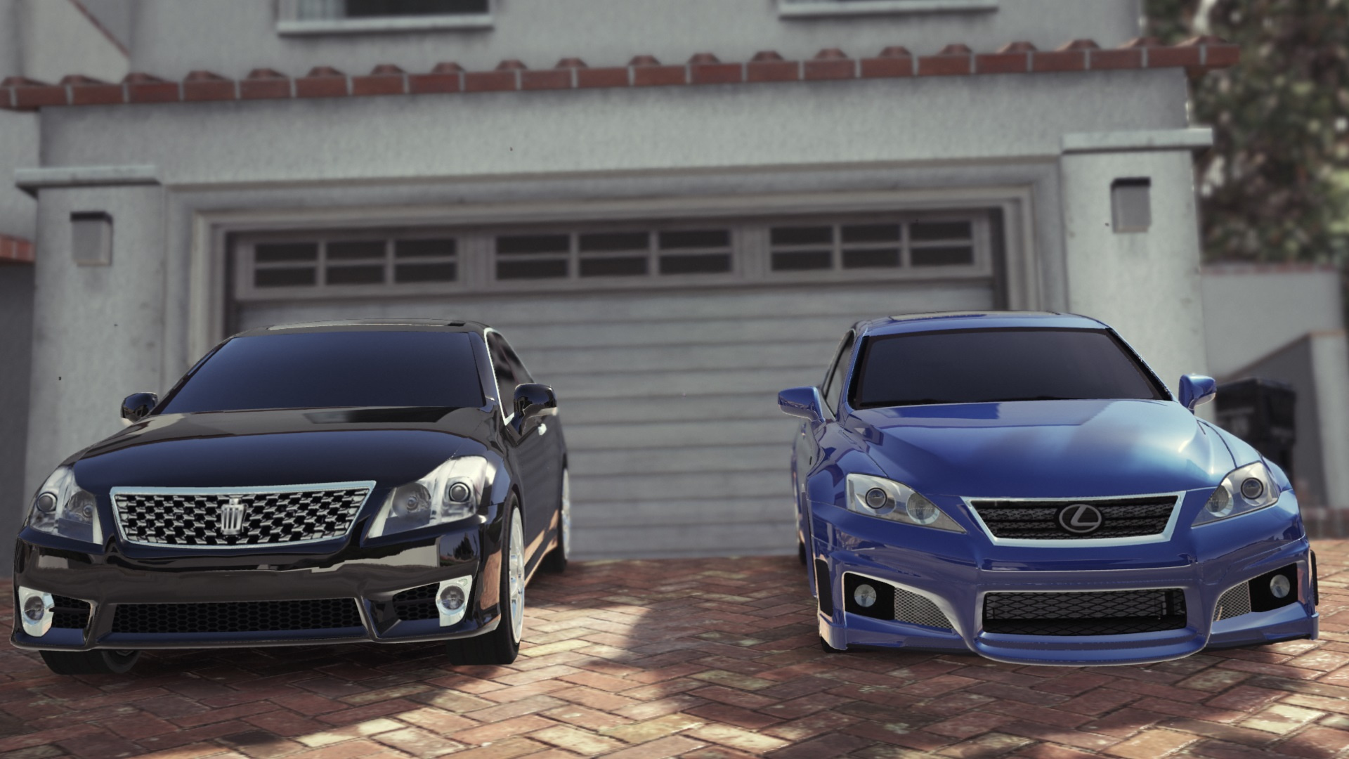 2009 lexus is f with wald bodykit replace gta5. Black Bedroom Furniture Sets. Home Design Ideas