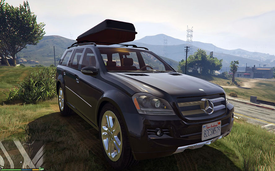 2009 mercedes benz gl500 gta5 for Mercedes benz gl500