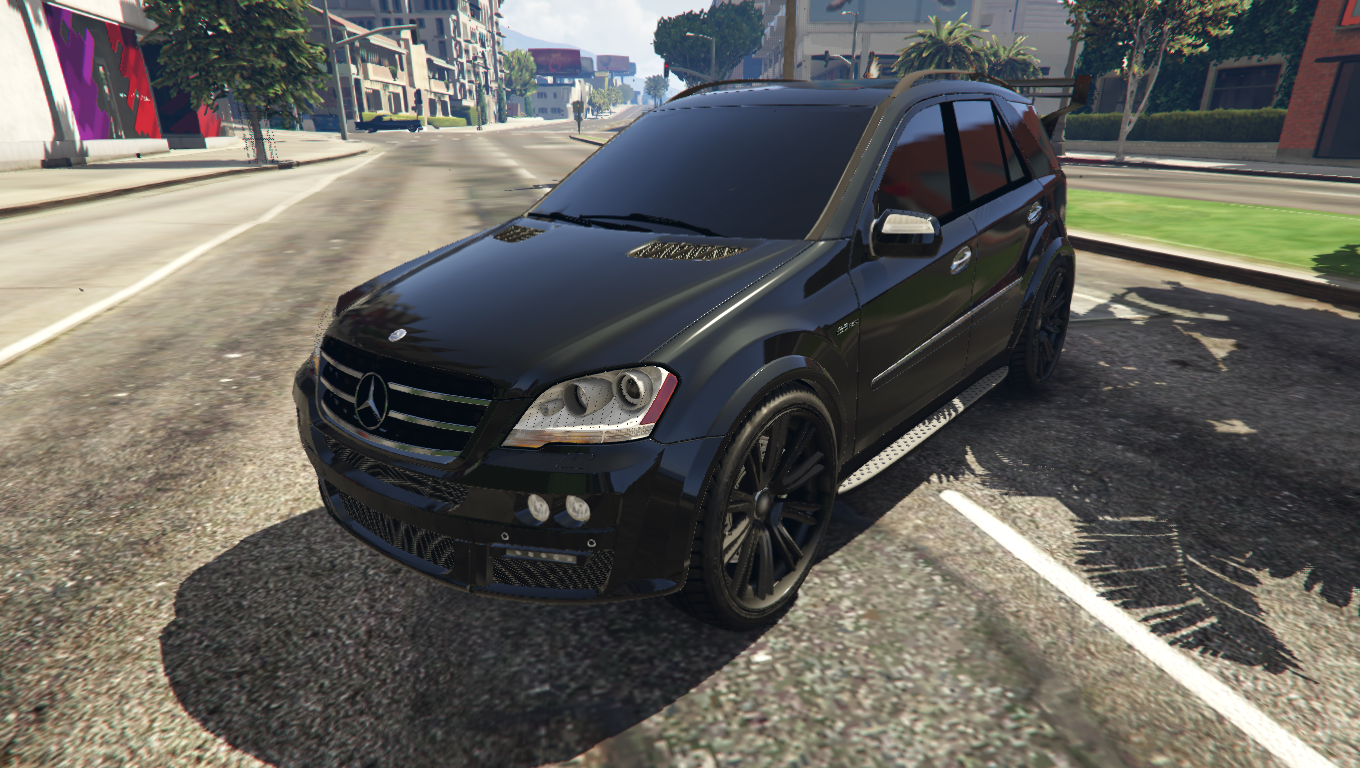 2009 mercedes benz ml63 amg gta5 for Mercedes benz gta