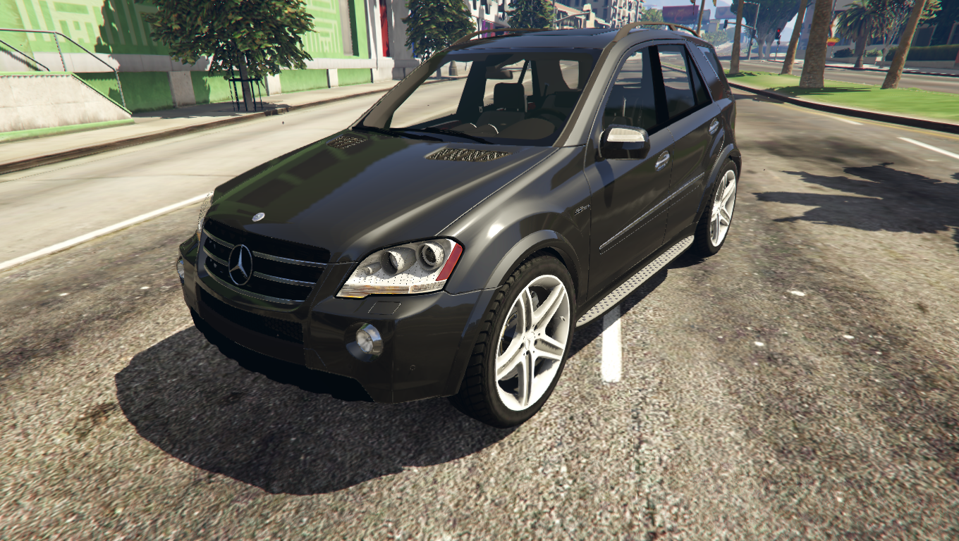 2009 mercedes benz ml63 amg gta5. Black Bedroom Furniture Sets. Home Design Ideas