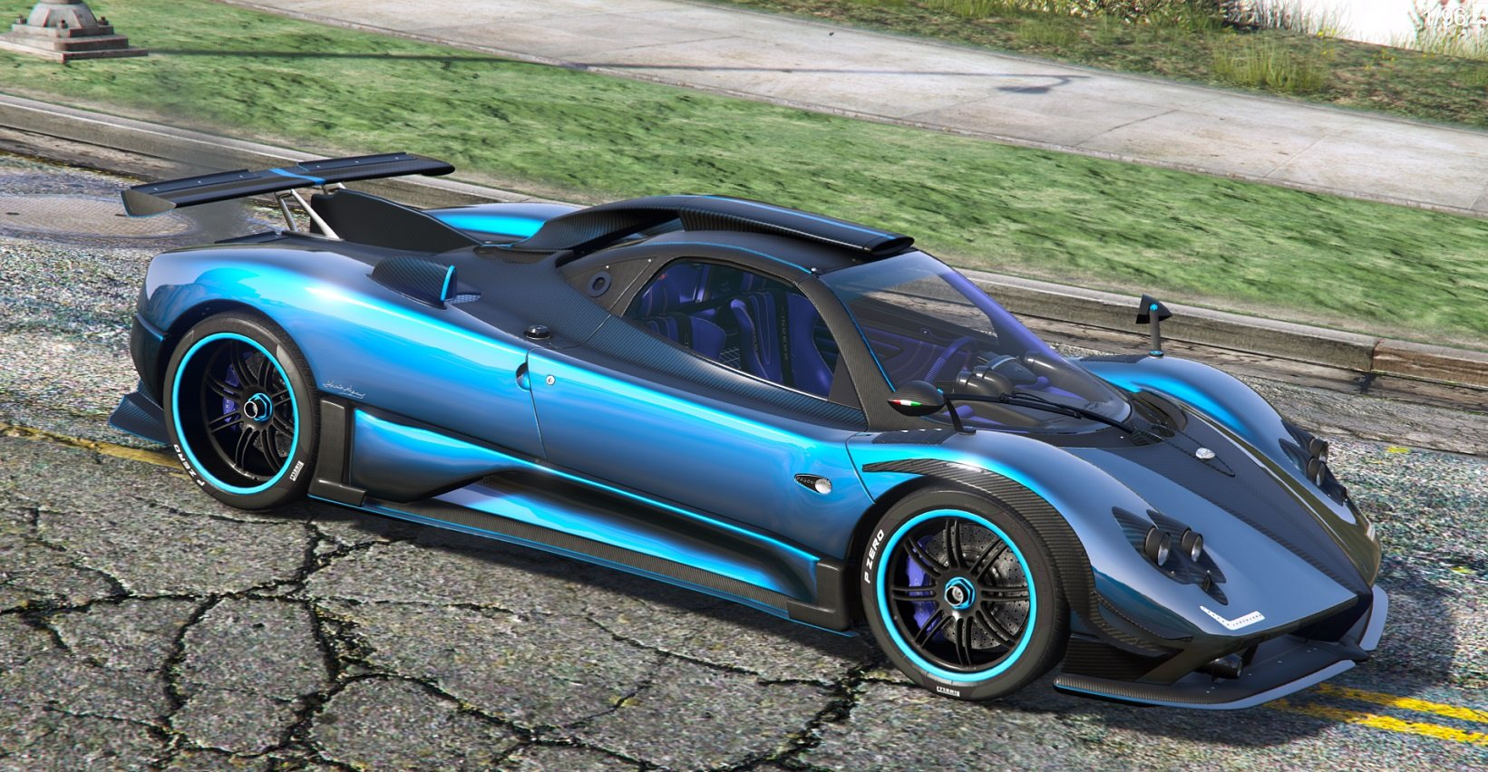 2009 pagani zonda cinque roadster customized add on wipers gta5. Black Bedroom Furniture Sets. Home Design Ideas